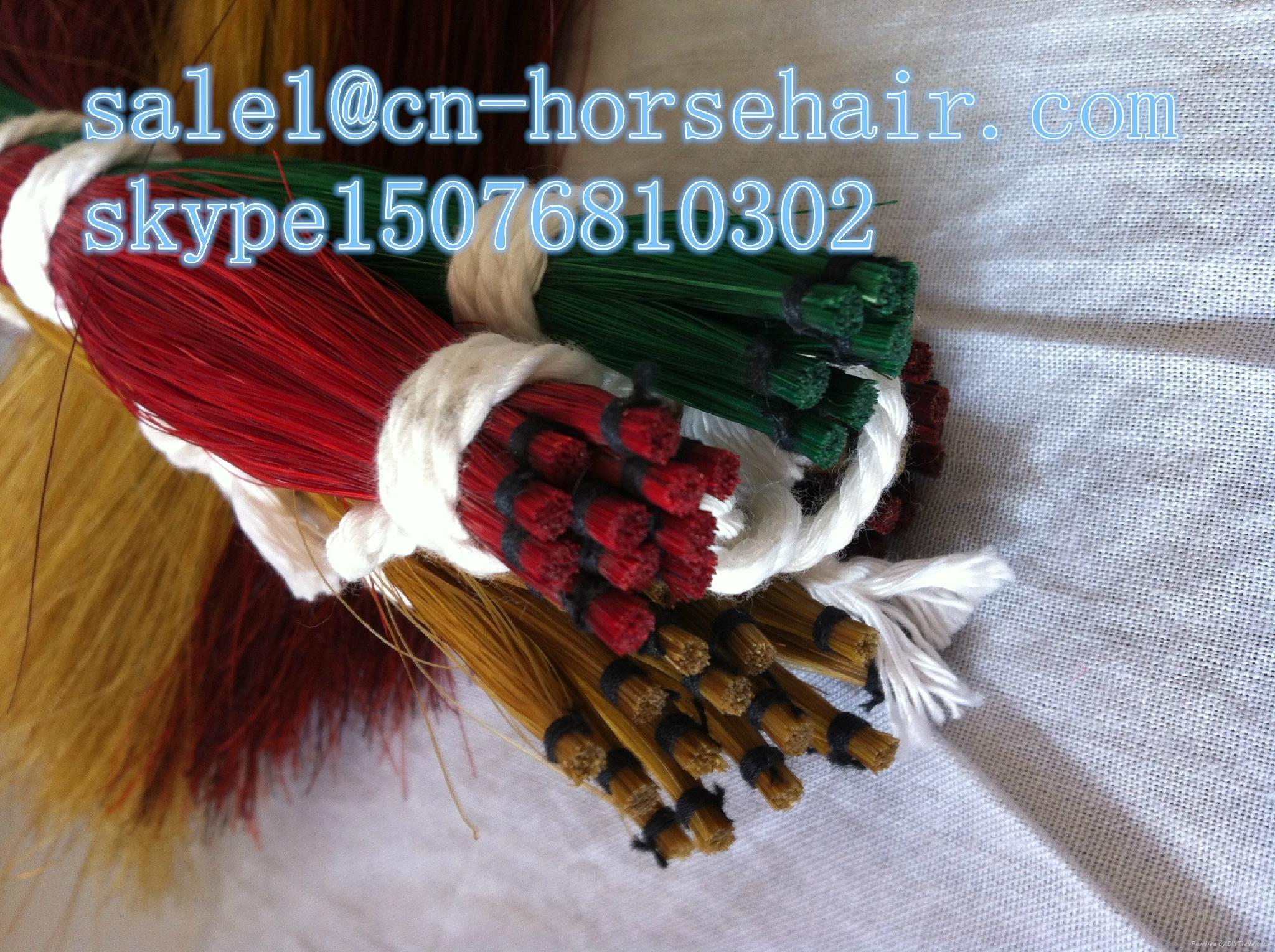 dyed horse hair 5