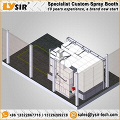 LYSIR Special Design Customized Spray Booth
