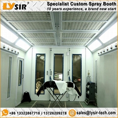 LYSIR Water Based Paint Spray Room Water Painting Booth