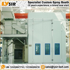 LYSIR High End Aerospace Paint Booths Nova Verta Spray Booth