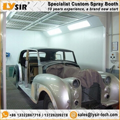LYSIR Economy Spray Chamber Auto Painting Oven