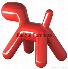 modern lovely chirlren furniture fiberglass magis puppy dog chair