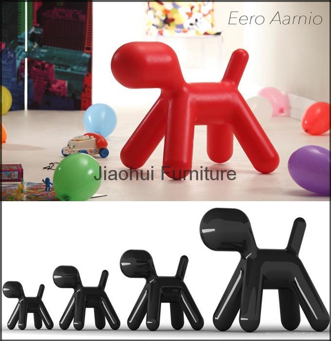 modern lovely chirlren furniture fiberglass magis puppy dog chair 3