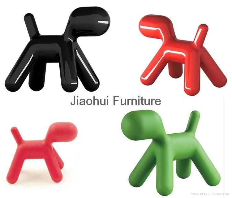 modern lovely chirlren furniture fiberglass magis puppy dog chair 4
