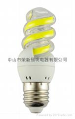 LED COB 3T 7W/9W Spiral