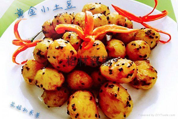 冷冻黄金速冻小土豆美食 5