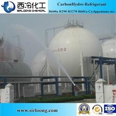Refrigerant Gas CAS:75-28-5 Isobutane R600a for Air Conditioning