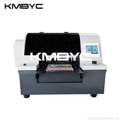 BYC168-A4 UV 6 channels digital uv led flatbed printer