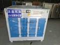 UV紫外線光解催化氧化有毒有害氣體治理裝置 5