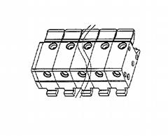 温控器接线端子