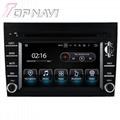 TOPNAVI 6.2'' Screen Android 7.1 Car Navigation GPS Stereo Porsche 2005-2012 3