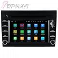 TOPNAVI 6.2'' Screen Android 7.1 Car Navigation GPS Stereo Porsche 2005-2012 2