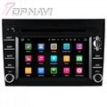 TOPNAVI 6.2'' Screen Android 7.1 Car Navigation GPS Stereo Porsche 2005-2012 1