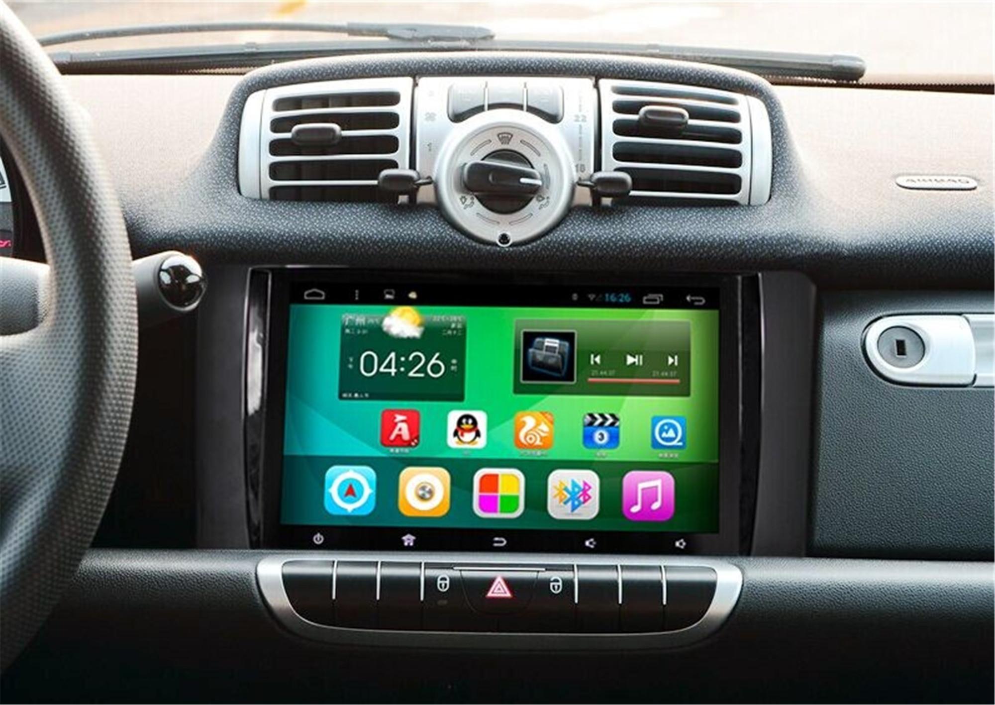TOPMAVI 9'' Benz Smart Auto Player DVD Navigation GPS 2010-2015 1