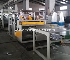 ABS PMMA sanitary board extrusion line