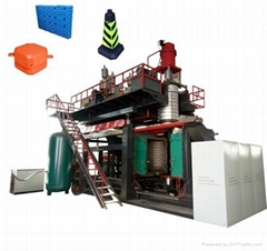 Road barried blow molding machine