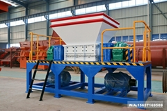 Plastic bottles shredder machine waste plastic shredding machine