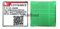 SIM7600CE+W58 4G模块带WiFi功能