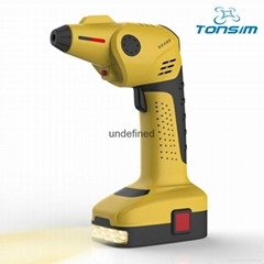 Rechargeable Cordless Air Compressor Tyre Inflator Pump 12V Portable Cars