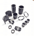 高性能粘結釹鐵硼磁環磁瓦等工廠