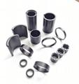 高性能粘结钕铁硼磁环磁瓦等工厂