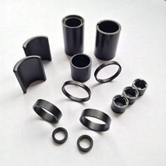 高性能粘結釹鐵硼磁環磁瓦等工廠直銷