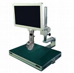 30°~60°侧视可调视频显微镜
