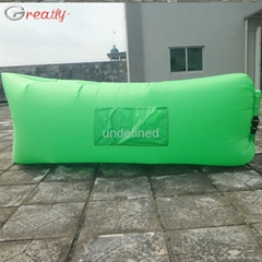 New 2017 High Quality Lazy Bag Waterproof Sleeping Bag Inflatable Sofas Portable