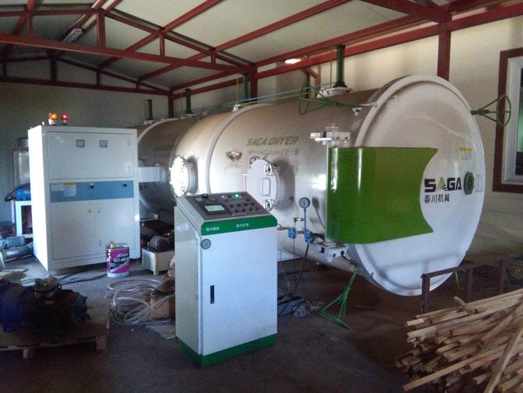 High Frequency Vacuum Wood Drying Kiln HF Dryer Machine 5