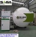 Radio Frequency RF Wood Dyer Machine Microwave Vacuum Drying Kiln