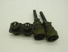 军标5015航空插头圆形连接器