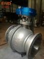 Q341F-16C渦輪碳鋼球閥 3