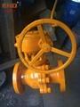 Q341F-16C渦輪碳鋼球閥 4