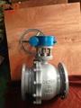 Q341F-16C渦輪碳鋼球閥 5
