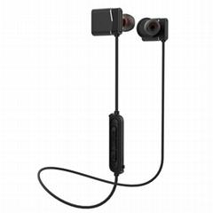 wireless Aluminium magnet bluetooth earbud