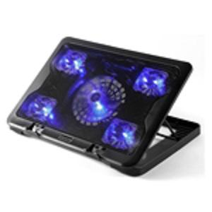 5.6 laptop cooler stand 5 LED fan notebook cooling pad with speed control 1