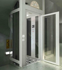 曵引觀光電梯