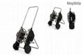 telescopic hose reel cart
