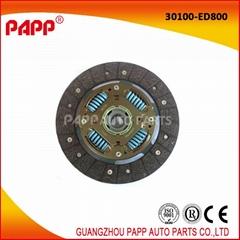 Auto Spare Parts Car Clutch Disc For Japanese car Nissan Tiida 30100 - ED800