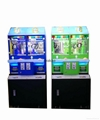 2017 candy slot machine arcade game Magic House doll coin pusher machine for kid 1