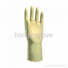 """12"""" 30克原色光里乳胶家用手套"""