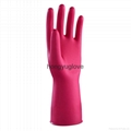 12'' 40g Rose red unlined nitrile