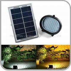 戶外太陽能氾光燈 69 LED 5W