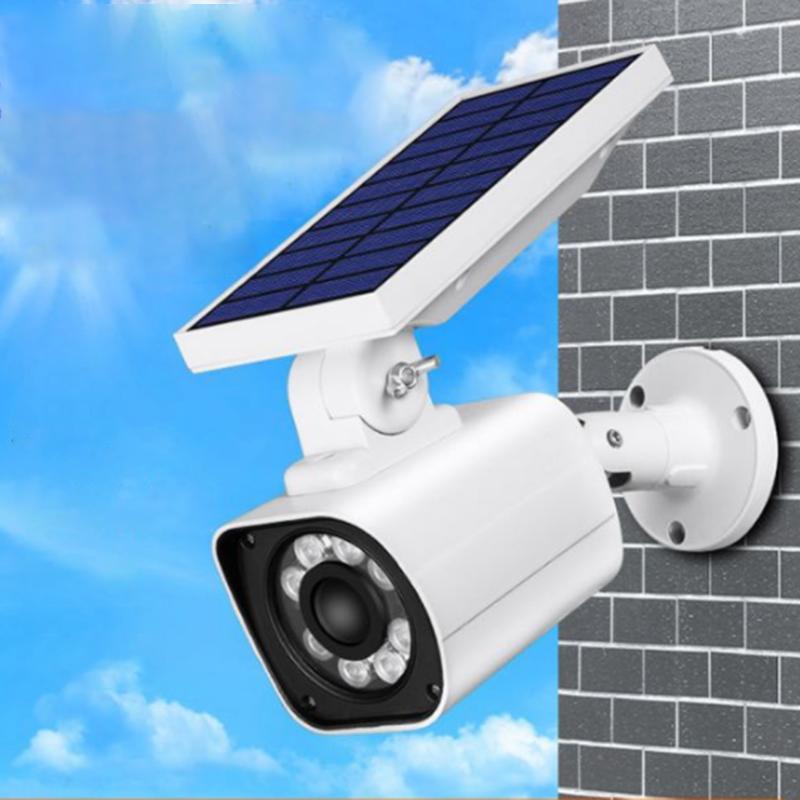 Solar Dummy Motion Sensor Light CCTV Security Camera