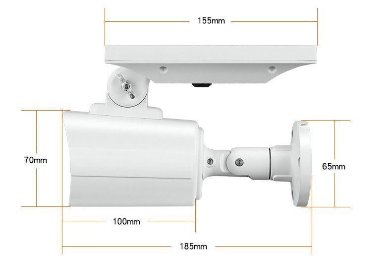 Solar Dummy Motion Sensor Light CCTV Security Camera 3