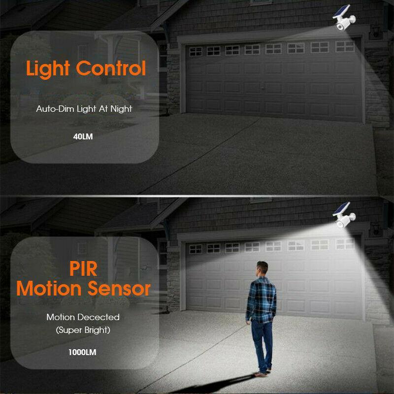 Solar Dummy Motion Sensor Light CCTV Security Camera 4