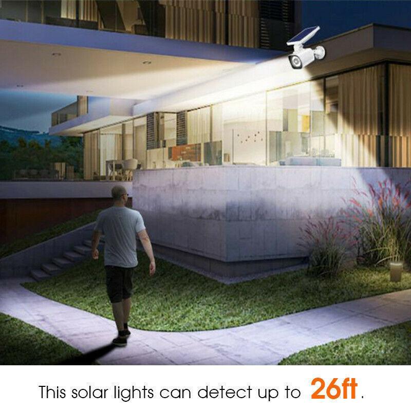 Solar Dummy Motion Sensor Light CCTV Security Camera 5
