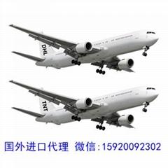 专业提供日本到国内进口清关服务