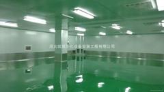 河北醫藥生產車間淨化施工