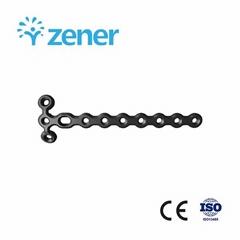 1.5mm 微 T 型鎖定加壓接骨板(頭 3 孔)